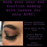 Function Makeup with Lashes for R390 Bedfordview Artists 2 _small